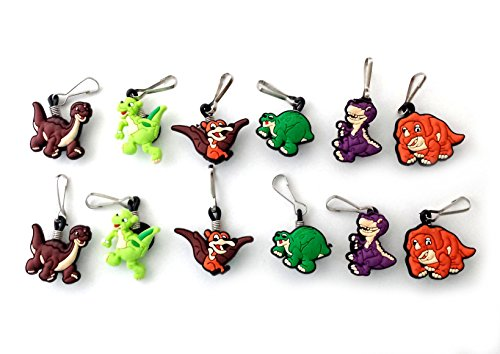 AVIRGO 12 pcs Zipper Pull Charms Set # 37-2