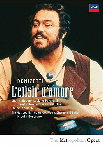 Luciano Pavarotti - L\'elisir D\'amore (DVD)