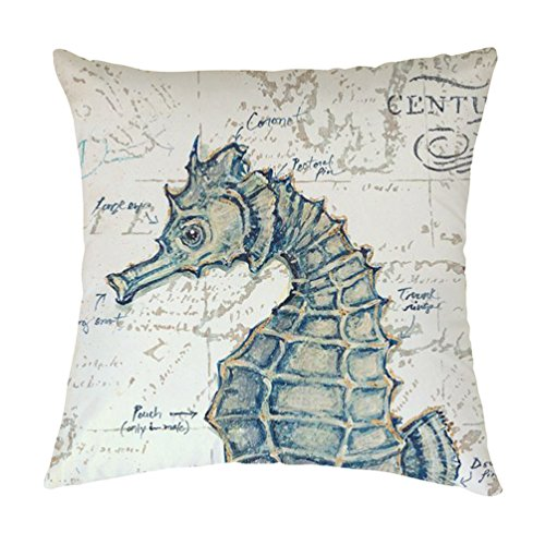 rosy-clouds-ocean-park-theme-seahorse-decorative-throw-pillow-covers-polyester-square-cushion-covers