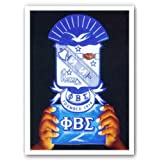 """Pride & Dignity - Phi Beta Sigma by Gerald Ivey 18""""x24"""" Art Print Poster"""