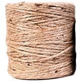 Koch 5480307 520-Feet Jute Twisted 3 Ply Twine, Natural
