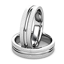buy Palladium 500 Men'S Bold Wedding Band Features Thick Brushed Edges Surrounding A Polished Accent Center. Palladium500 Qualities Are Quite Unique It'S Tough Durable And Shares The Qualities And Strengths Of The Other Members Of The Precious Metals Family.