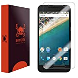 Skinomi® TechSkin - LG Nexus 5X Screen Protector (2015) Premium HD Clear Film with Free Lifetime Replacement Warranty / Ultra High Definition Invisible and Anti-Bubble Crystal Shield