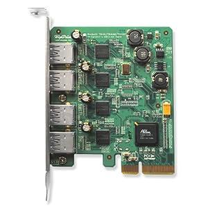 HighPoint RocketU 1144A SuperSpeed USB 3.0 PCI-Express 2.0 x4 4-Port Card