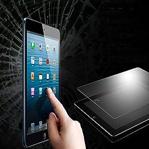 【厚さ0.33mm】GLASS-M iPad Air (iPad 5世代)対応 強化ガラスフィルム 硬度9H