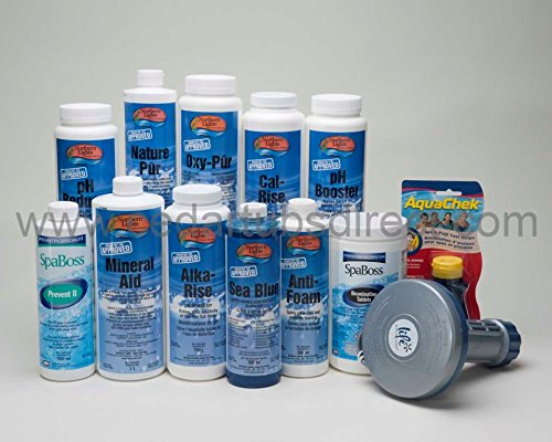 Hot Tub Starter Chemical Kit (Oxy Cal compare prices)