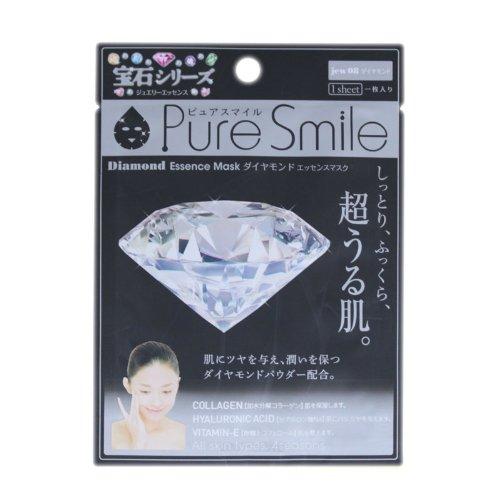 ピュアスマイルエッセンスマスク宝石シリーズ ダイアモンド100枚セット