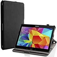 MoKo Samsung Galaxy Tab S 10.5 Case - Slim-Fit Multi-angle Folio Cover Case for Samsung Galaxy Tab S 10.5 Inch Android Tablet, BLACK from MoKo