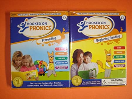Hooked on Phonics PreReading & Beginning Reading (Set of 2)