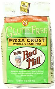 Bob's Red Mill Gluten Free Pizza Crust, 16-Ounce (Pack of 4)