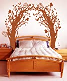 Vinyl Wall Decal Sticker Butterfly Floral Blossom Tree Tunnel GFoster148B