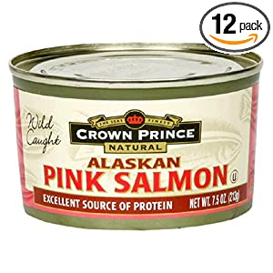 Cheapest Best Price Crown Prince Natural Alaskan Pink Salmon, No Salt Added