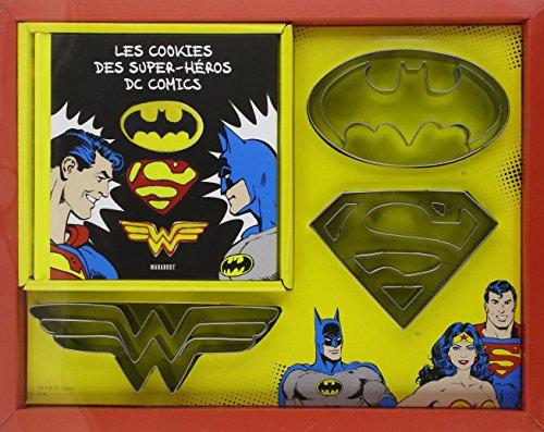Les cookies des super-héros de comics : Avec 3 emporte-pièce