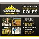 Search : Cascade Mountain Tech Carbon Fiber Trekking Poles