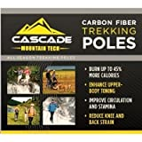 Cascade Mountain Tech Carbon Fiber Trekking Poles