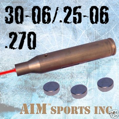 AIM Cartridge Laser Rifle Bore Sighter For .30-06 270 .25-06