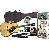Yamaha Gigmaker Standard Acoustic Guitar Pack, Natural ~ Yamaha