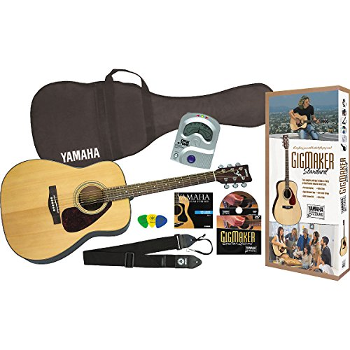 Yamaha Gigmaker Standard Acoustic Guitar Pack, Natural