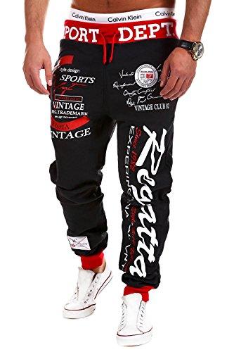 MT Styles - R-509 - Pantaloni sportivi tuta REGATTA - Grigio scuro - XXL
