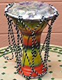 Moroccan Drum darbouka small coloreful