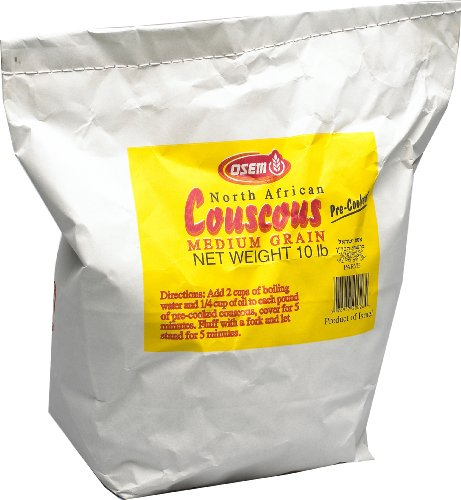 Osem North African Couscous, 10 Pound Bag