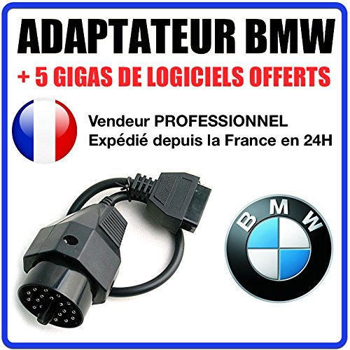 Best Offer 20 Pin OBD2 Adapter for BMW E30, E34, E6, E45