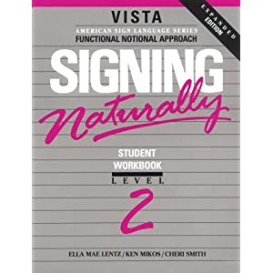 Signing naturally level 2 book amp vhs tape on popscreen