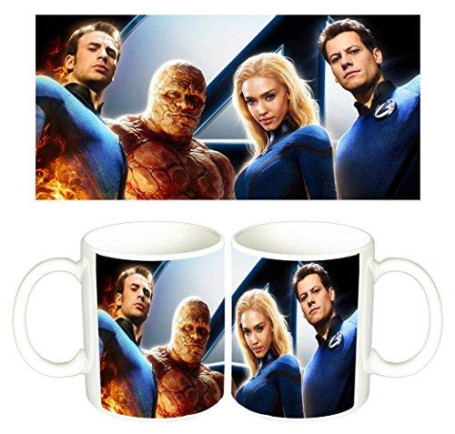 Los 4 Fantasticos Fantastic Four Rise Of The Silver Surfer Tazza Mug
