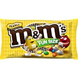 M&M's Peanut Fun Size Chocolate Candy, 11.23 Ounce Bag (Pack of 6)
