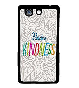 Fuson 2D Printed Quotes Designer back case cover for Sony Xperia Z4 Compact - D4595