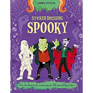 Sticker Dressing Spooky (Usborne Sticker Dressing)