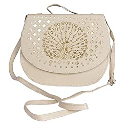 Greentree Women's Sling Bag (White,G2016)
