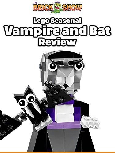 LEGO Seasonal Vampire And Bat Review