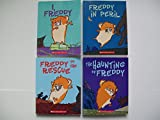 img - for Golden Hamster Saga (Set of 4) I, Freddy; Freddy in Peril; Freddy to the Rescue; Haunting of Freddy book / textbook / text book