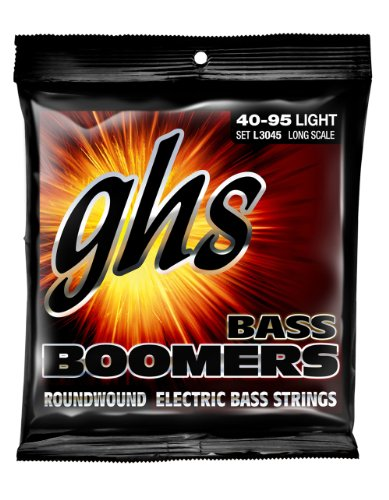 Ghs Strings Electric Bass Boomer Set (Light Nickel Steel, 4-String, Long Scale)