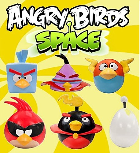 Angry Birds Space Mash'Ems Series 2 Complete Set of All 6 Mashems Figures in Blind Capsules (Angry Bird Mashems Space compare prices)