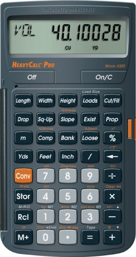 HeavyCalc Pro - Calculated Industries - RC-CI4325 - ISBN: B000H6WBVS - ISBN-13: 0098584000455