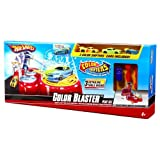 Hot Wheels Color Shifters Color Blaster Playset With 3 Color Shifters Vehicles