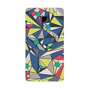 Garmor Designer Mobile Skin Sticker For Lava Iris 504Q Plus - Mobile Sticker