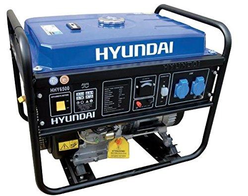 Generatore di corrente hyundai hy 6500 5 5 kw gruppo for Generatore di corrente hyundai hy 3000 3 kw