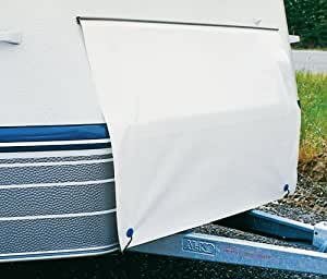 Hindermann Hiver Protection du coffre à bouteilles de gaz (Dimensions: 165 x 75 cm)