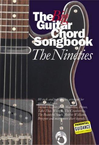 The Big Guitar Chord Songbook: Nineties | Guitar Jar Magazine Shop