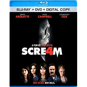 Click to buy Scariest Movies of All Time: Scream 4 from Amazon!