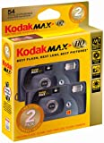 Kodak MAX HQ One Time Use Camera (2 Pack)