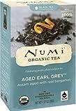 Numi Organic Tea Aged Earl Grey, Full Leaf Black Tea, 18-Count Tea Bags (Pack of 3)