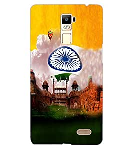 ColourCraft Printed Design Back Case Cover for OPPO R7