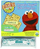 Earths Best Organic Vanilla Yogurt Rice Crisp Bars, 4 Ounce Boxes Containing 6 Bars (Pack of 6)
