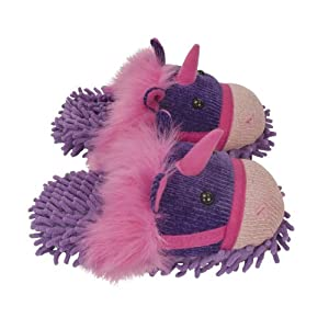 Aroma Home Fuzzy Friends Slippers