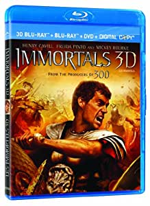 Immortals 3D [Blu-ray 3D + Blu-ray + DVD + Digital Copy] (Bilingual)