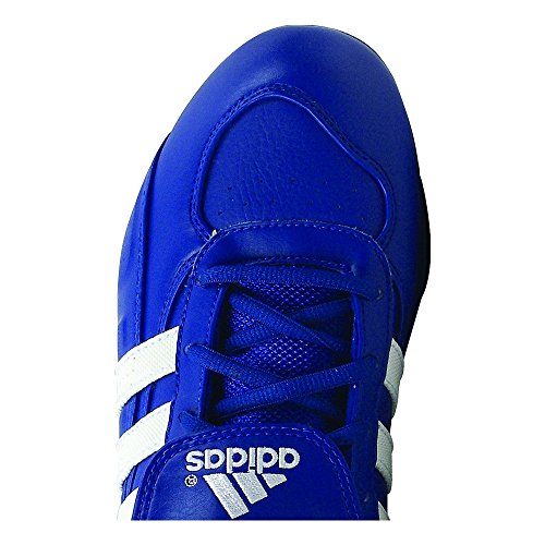 pictures of Adidas Excelsior 5 Low Men's Metal Baseball Cleats, Royal/White, 12